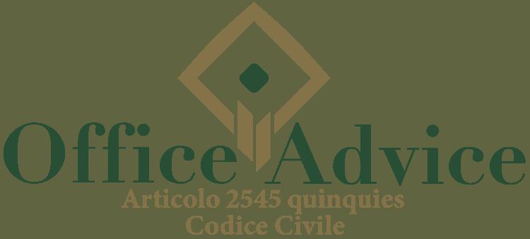 Articolo 2545 quinquies - Codice Civile