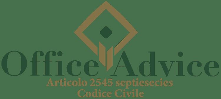 Articolo 2545 septiesdecies - Codice Civile