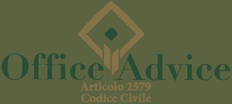 Articolo 2579 - Codice Civile