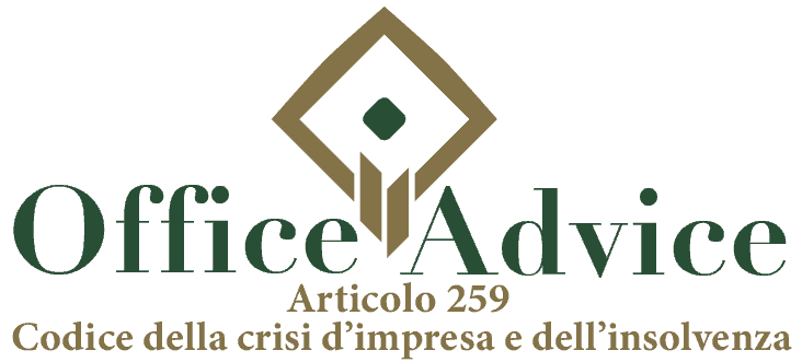 Art. 259 - Codice della crisi d'impresa e dell'insolvenza