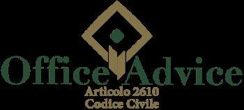 Articolo 2610 - Codice Civile