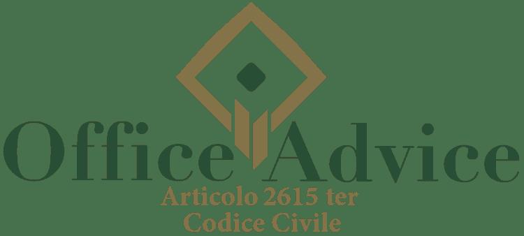 Articolo 2615 ter - Codice Civile