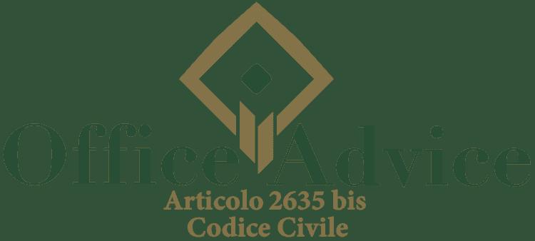 Articolo 2635 bis - Codice Civile