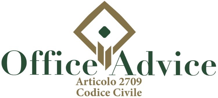 Articolo 2709 - Codice Civile