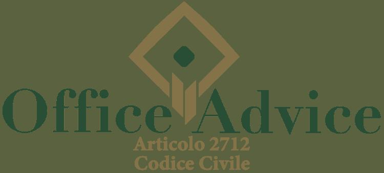 Articolo 2712 - Codice Civile