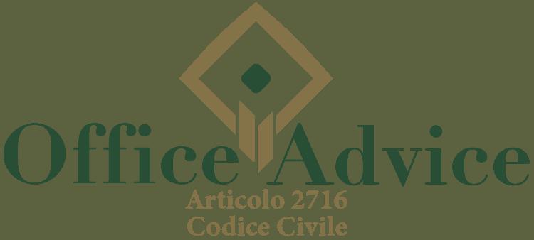 Articolo 2716 - Codice Civile