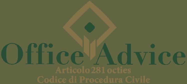 Articolo 281 octies - Codice di Procedura Civile