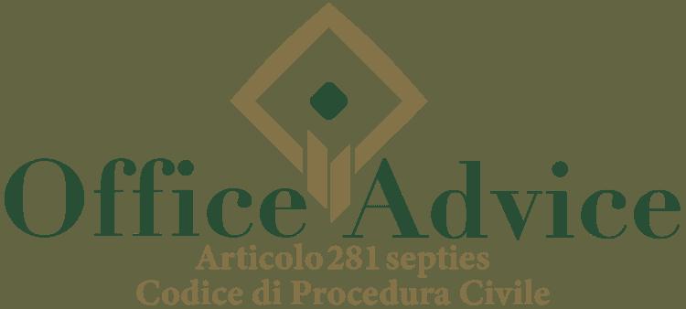 Articolo 281 septies - Codice di Procedura Civile