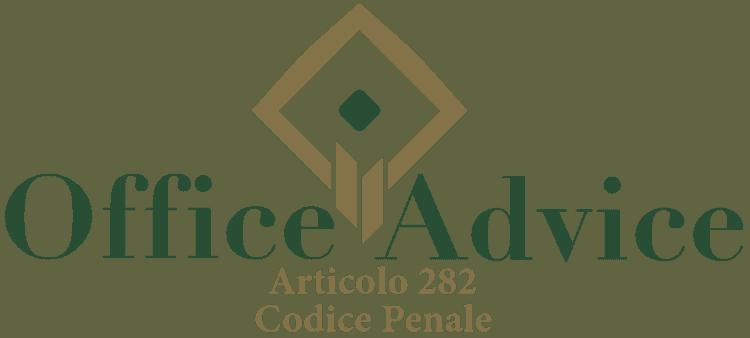 Articolo 282 - Codice Penale