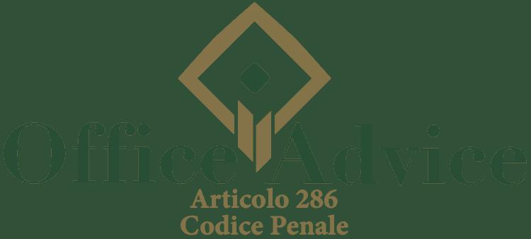 Articolo 286 - Codice Penale