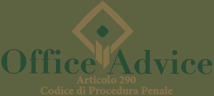 Articolo 290 - Codice di Procedura Penale