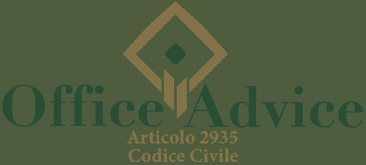 Articolo 2935 - Codice Civile