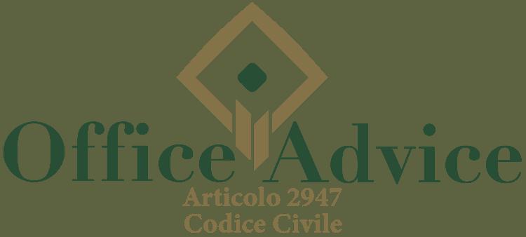 Articolo 2947 - Codice Civile