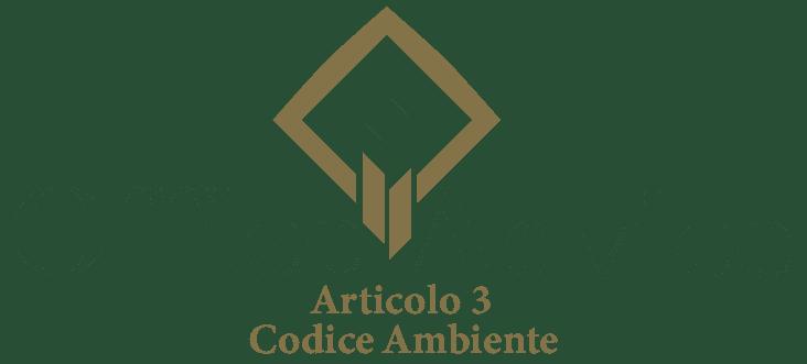 Art. 3 - Codice ambiente