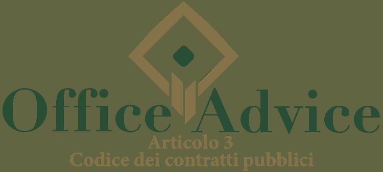 Articolo 3 - Codice dei Contratti Pubblici (Nuovo Codice degli Appalti)