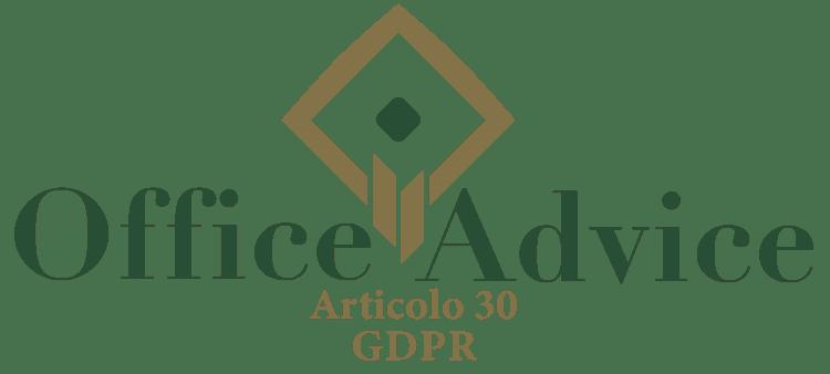 Articolo 30 - GDPR