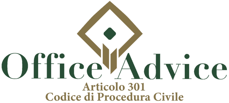 Articolo 301 - Codice di Procedura Civile