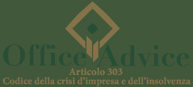 Art. 303 - Codice della crisi d'impresa e dell'insolvenza