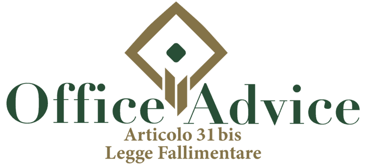 Articolo 31 bis - Legge fallimentare