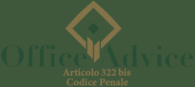 Articolo 322 bis - Codice Penale