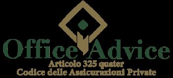 Articolo 325 quater - Codice delle assicurazioni private