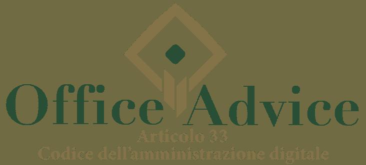 Art. 33 - Codice dell'amministrazione digitale