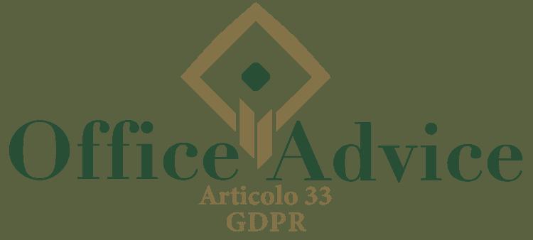 Articolo 33 - GDPR
