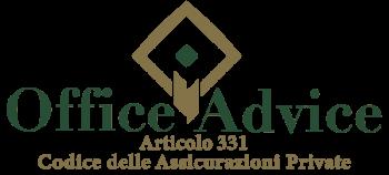 Articolo 331 - Codice delle assicurazioni private