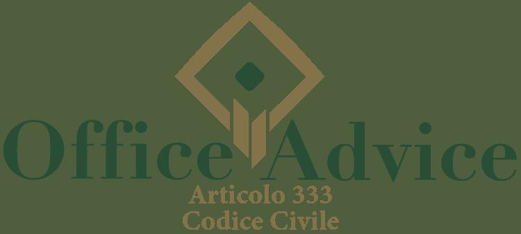 Articolo 333 - Codice Civile