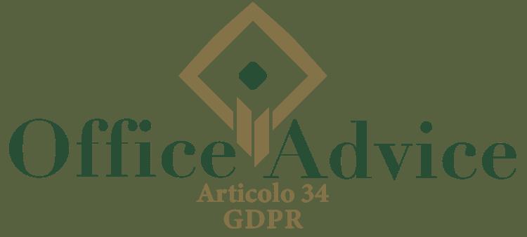 Articolo 34 - GDPR