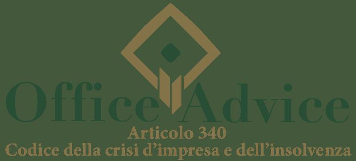 Art. 340 - Codice della crisi d'impresa e dell'insolvenza