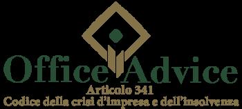 Art. 341 - codice della crisi d'impresa e dell'insolvenza