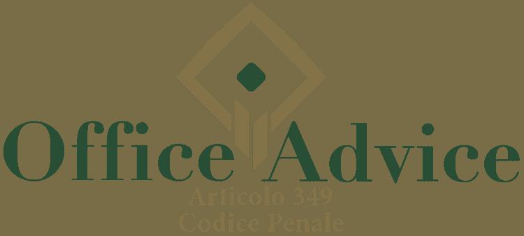 Articolo 349 - Codice Penale
