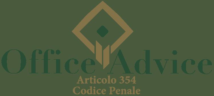 Articolo 354 - Codice Penale