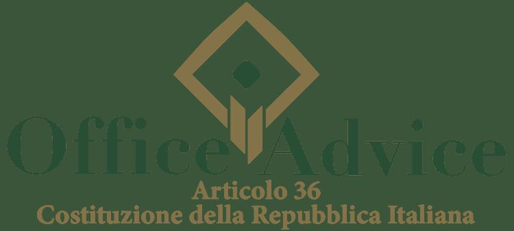 Articolo 36 - Costituzione della Repubblica Italiana