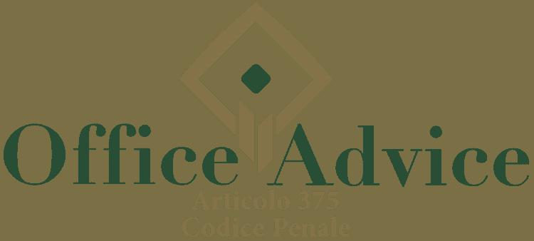 Articolo 375 - Codice Penale