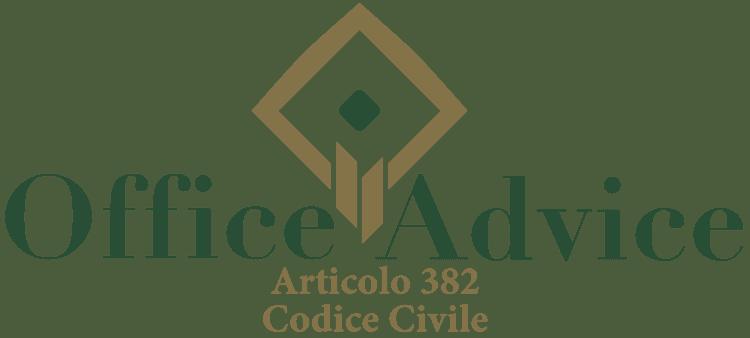 Articolo 382 - Codice Civile