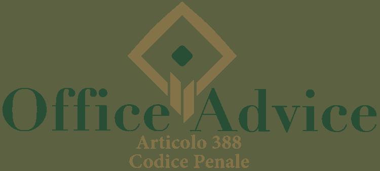 Articolo 388 - Codice Penale