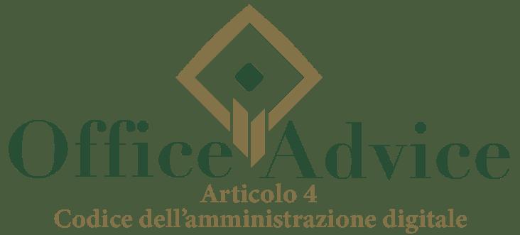 Art. 4 - Codice dell'amministrazione digitale