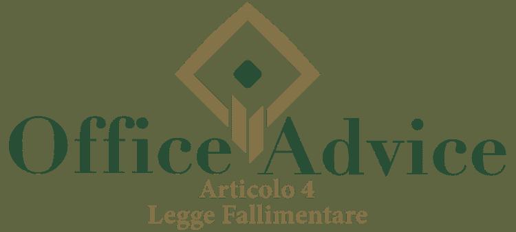 Articolo 4 - Legge fallimentare