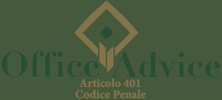 Articolo 401 - Codice Penale