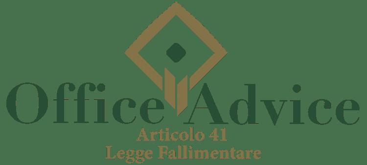 Articolo 41 - Legge fallimentare