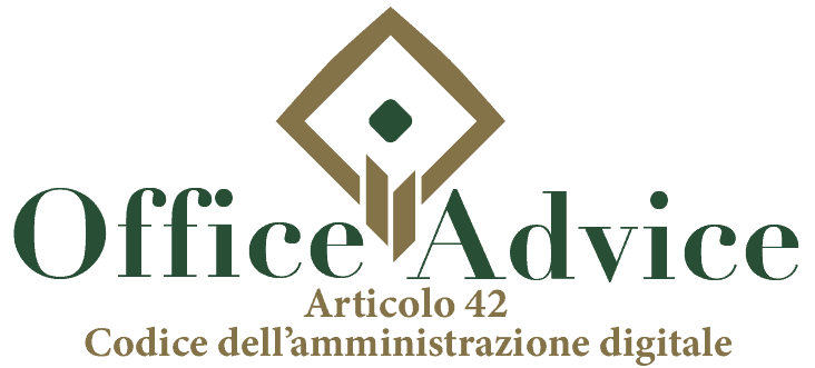 Art. 42 - Codice dell'amministrazione digitale