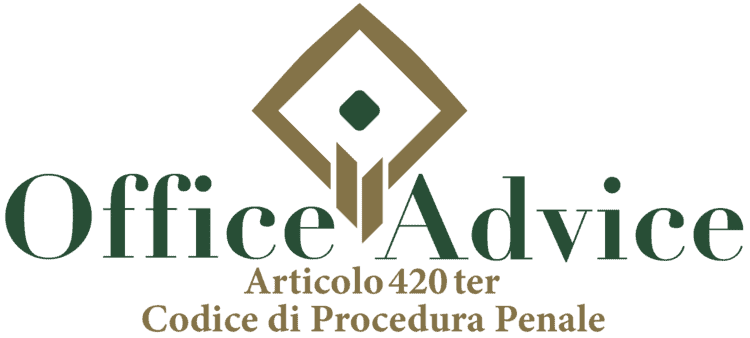 Articolo 420 ter - Codice di Procedura Penale