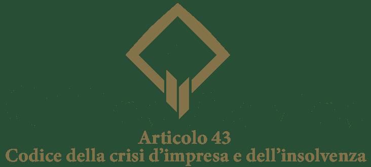 Art. 43 - Codice della crisi d'impresa e dell'insolvenza