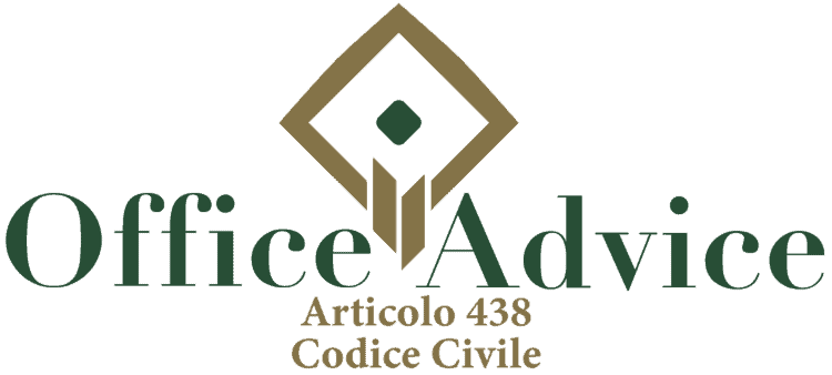 Articolo 438 - Codice Civile