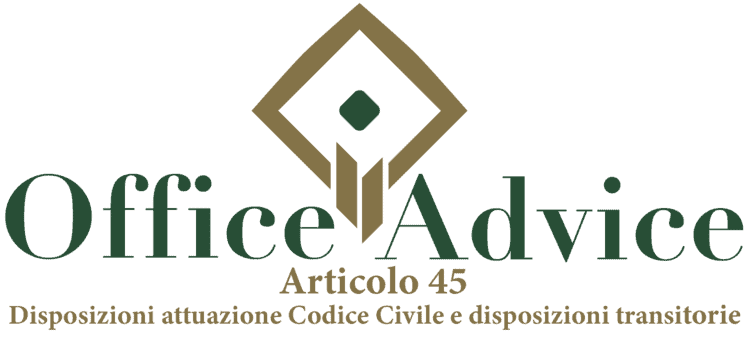 Articolo 45 - Disposizioni attuazione Codice Civile e disposizioni transitorie