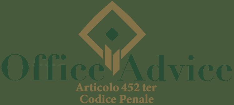 Articolo 452 ter - Codice Penale