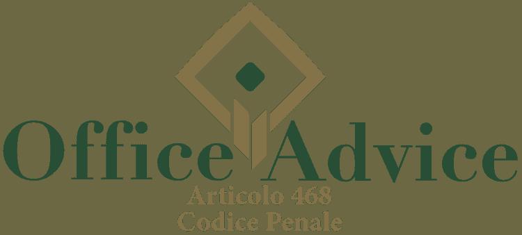 Articolo 468 - Codice Penale