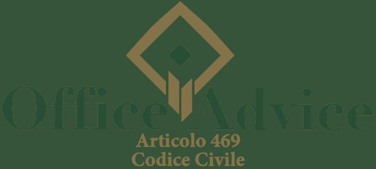 Articolo 469 - Codice Civile